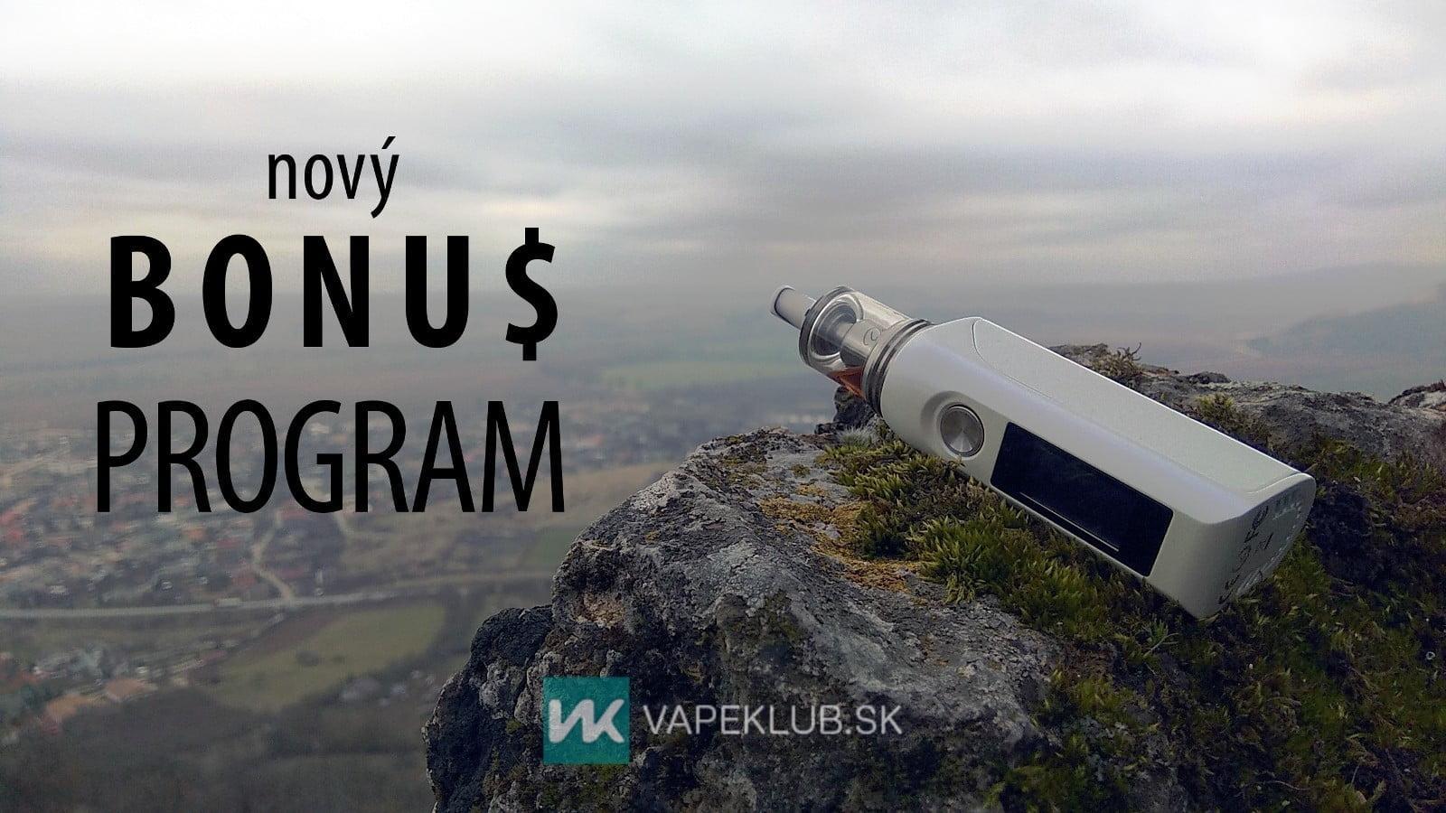 Bonus Program Vapeklub SK