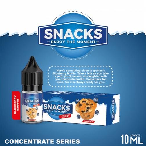 aroma snacks blueberry muffin