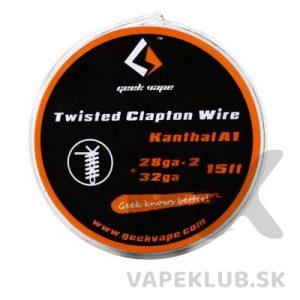 GeekVape-Twisted-Clapton-kanthal-28GA