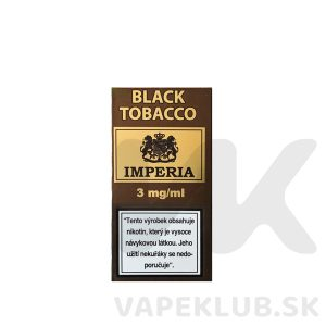 imperia black tobacco liquid 10ml