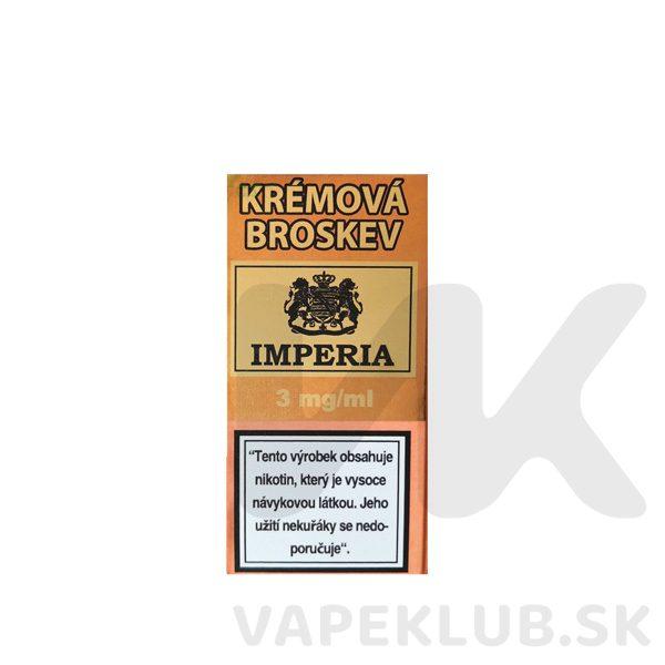 imperia kremova broskev liquid 10ml