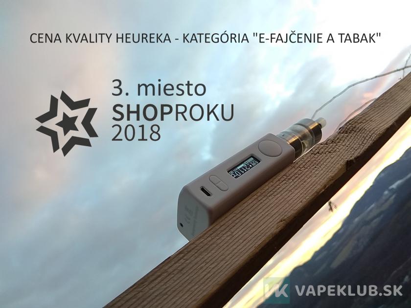 3. miesto v súťaži Shop Roku – Cena Kvality