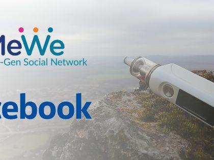Cenzuruje Facebook vaping? MeWe a hystéria