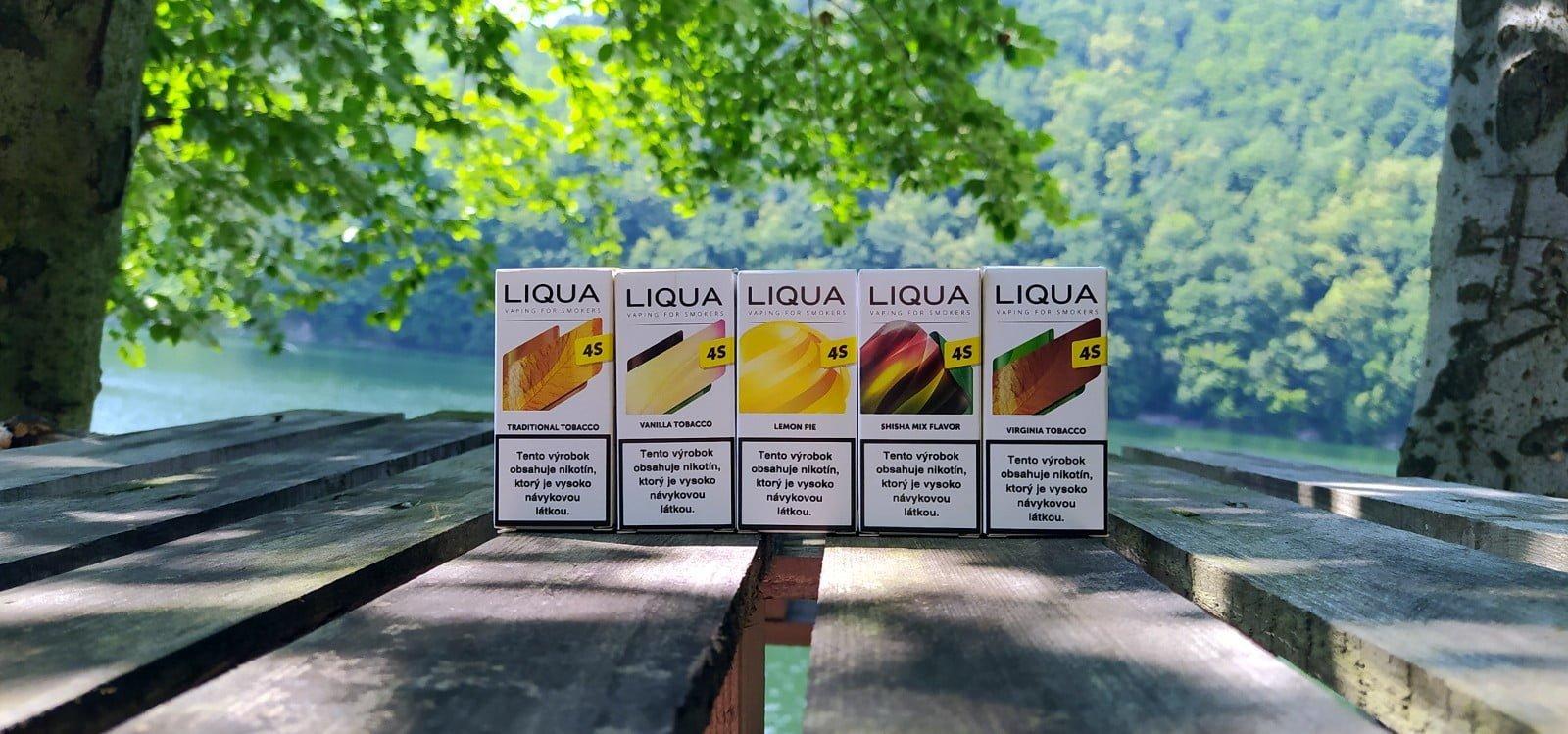 Liqua 4S - séria SALT liquidov od známeho výrobcu
