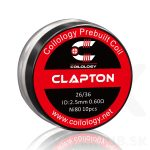 Coilology Clapton DL špirálky 0.6 ohm